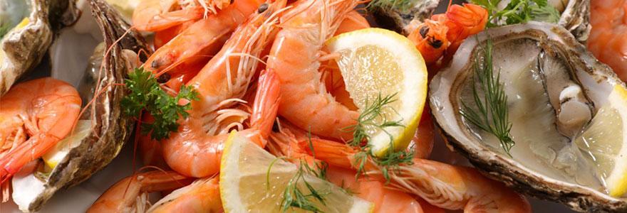 Déguster du bon poisson et des fruits de mer