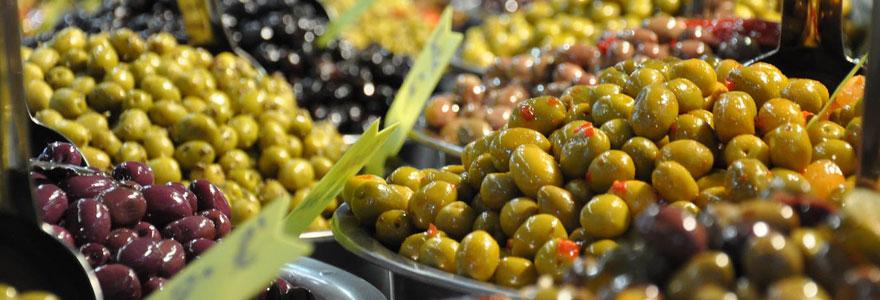 Produit d'olive